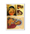 ARTWORK-0047. Carta di riso opere d'arte per decoupage.