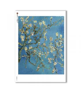 ARTWORK-0062. Carta di riso opere d'arte per decoupage.
