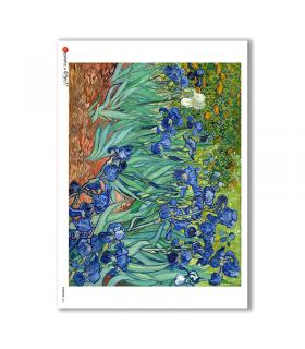 ARTWORK-0063. Papel de Arroz obras de arte para decoupage.
