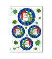 CHRISTMAS-0022. Carta di riso Natale per decoupage.
