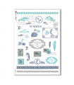 COUNTRY-0025. Carta di riso country per decoupage.