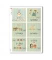 COUNTRY-0046. Carta di riso country per decoupage.