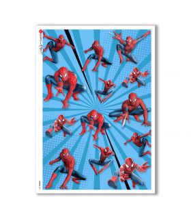 COMICS-0017. Papel de Arroz comics para decoupage.