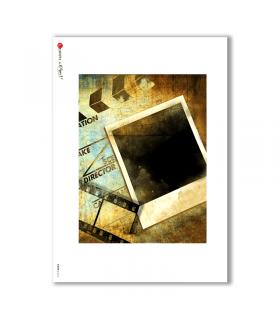 ALBUM-L-0013. Rice Paper album for decoupage.