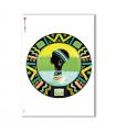 FOLK-0024. Carta di riso etniche per decoupage.