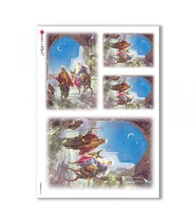 CHRISTMAS-0039. Papel de Arroz Navidad para decoupage.