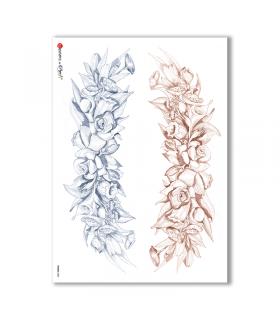 FRAME-0002. Rice Paper frame for decoupage.