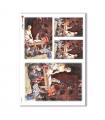 CHRISTMAS-0048. Christmas Rice Paper for decoupage.