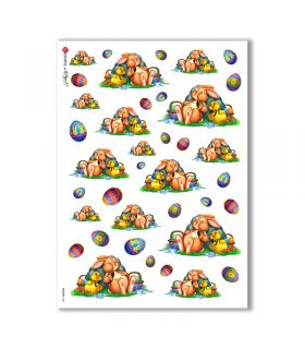 HOLIDAY-0021. Carta di riso festività per decoupage.