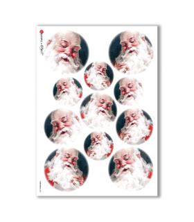 CHRISTMAS-0055. Papel de Arroz Navidad para decoupage.
