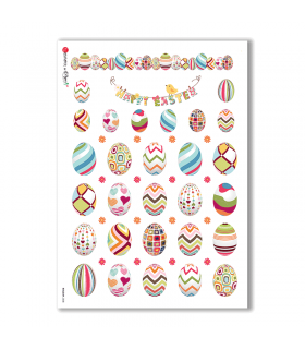 HOLIDAY-0038. Carta di riso festività per decoupage.