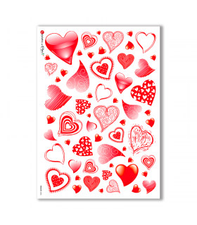 HOLIDAY-0045. Carta di riso festività per decoupage.