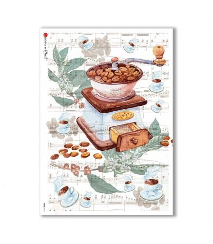 Carta di riso cucina per decoupage