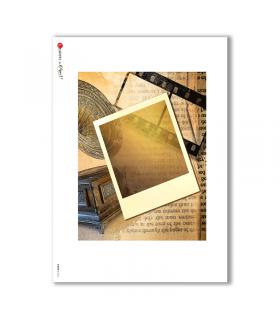 ALBUM-L-0016. Rice Paper album for decoupage.