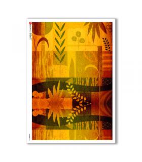 PATTERN-0014. Papel de Arroz texture para decoupage.
