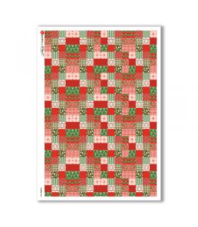 PATTERN-0040. Carta di riso texture per decoupage.