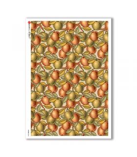 PATTERN-0044. Carta di riso texture per decoupage.
