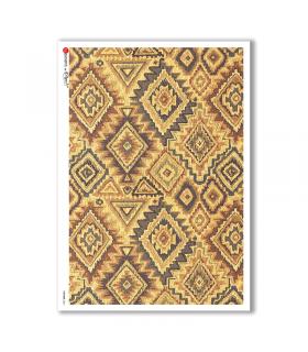 PATTERN-0061. Carta di riso texture per decoupage.