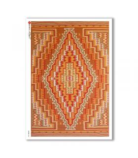 PATTERN-0064. Carta di riso texture per decoupage.