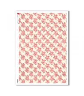 PATTERN-0141. Carta di riso texture per decoupage.