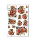 SCENE-0035. Carta di riso pittorico per decoupage.