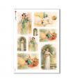 SCENE-0041. Carta di riso pittorico per decoupage.