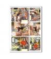 SCENE-0058. Carta di riso pittorico per decoupage.