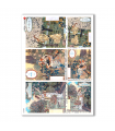 SCENE-0059. Carta di riso pittorico per decoupage.