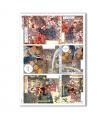 SCENE-0060. Carta di riso pittorico per decoupage.