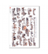 SCENE-0063. Carta di riso pittorico per decoupage.