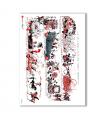 SCENE-0064. Carta di riso pittorico per decoupage.