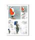 SCENE-0073. Carta di riso pittorico per decoupage.