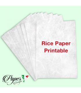 Carta di riso stampabile