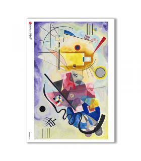 ARTWORK-0065. Carta di riso opere d'arte per decoupage.
