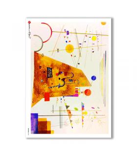 ARTWORK-0068. Artwork Rice Paper for decoupage.