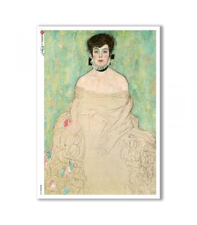 ARTWORK-0080. Carta di riso opere d'arte per decoupage.