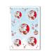 CHRISTMAS_0277. Papel de Arroz Navidad victoriano para decoupage.