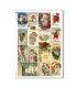 CHRISTMAS-0279. Papel de Arroz Navidad victoriano para decoupage.