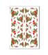 CHRISTMAS-0282. Carta di riso vittoriana Natale per decoupage.