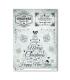 CHRISTMAS-0285. Papel de Arroz Navidad victoriano para decoupage.