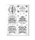 CHRISTMAS-0286. Papel de Arroz Navidad victoriano para decoupage.