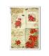 CHRISTMAS-0291. Papel de Arroz Navidad victoriano para decoupage.