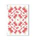 CHRISTMAS-0294. Carta di riso vittoriana Natale per decoupage.