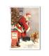 CHRISTMAS-0299. Carta di riso vittoriana Natale per decoupage.