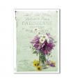 FLOWERS_0318. Carta di riso vittoriana fiori per decoupage.