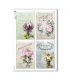 FLOWERS_0319. Carta di riso vittoriana fiori per decoupage.