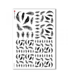 OLD OBJECTS-0007. Carta di riso oggetti vintage per decoupage.