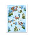 CHRISTMAS-0135. Christmas Rice Paper for decoupage.