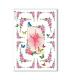 FLOWERS_0306. Carta di riso vittoriana fiori per decoupage.