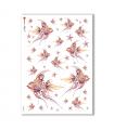 ANIMALS-0113. Carta di riso animali per decoupage.